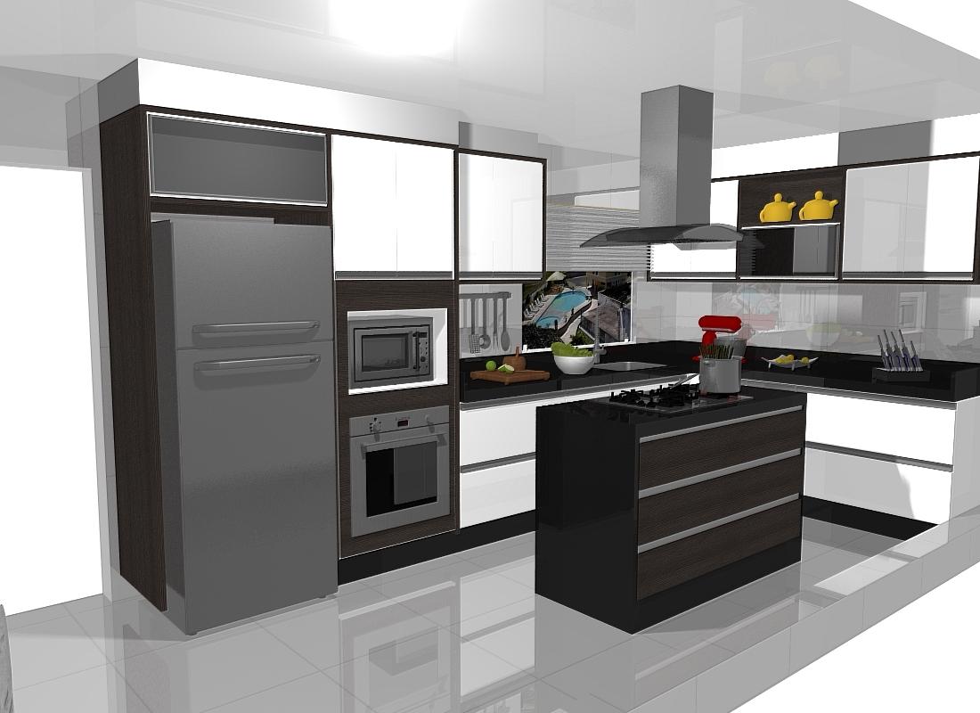 Cozinha Sob Medida Marcenaria Po